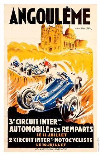 3e circuit international automobile des Remparts et 2e circuit international motocycliste