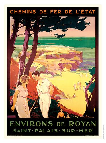 Affiches et posters de royan et du pays royannais - Office du tourisme de saint palais sur mer ...