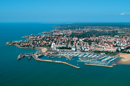 Port de Royan vu du ciel