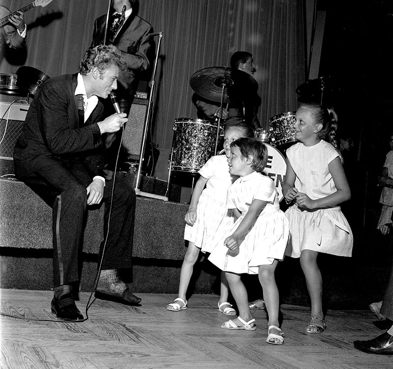 Johnny Halliday Concert de royan 1960
